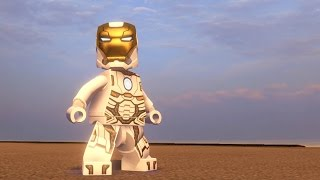 LEGO Marvel's Avengers - Iron Man (Space Suit) | Free Roam Gameplay (PC HD) [1080p60FPS]
