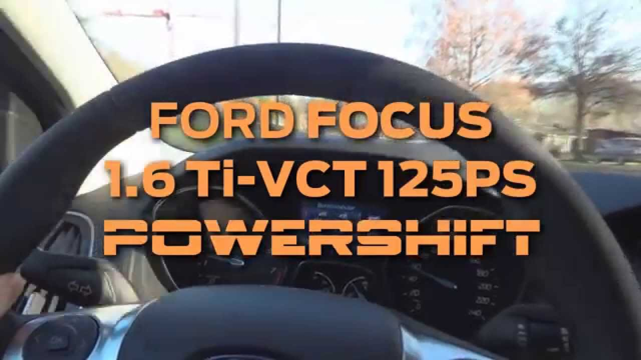 2011 ford focus 1 6 ti vct with powershift dual clutch. Black Bedroom Furniture Sets. Home Design Ideas