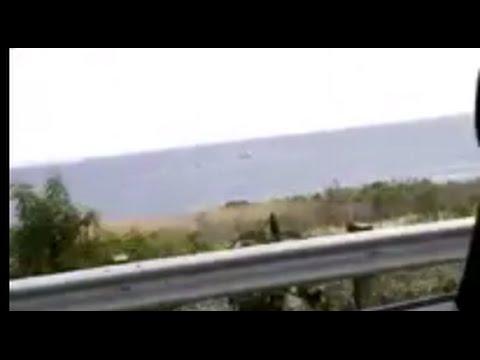 Eyewitness footage of Santa Barbara Oil Spill