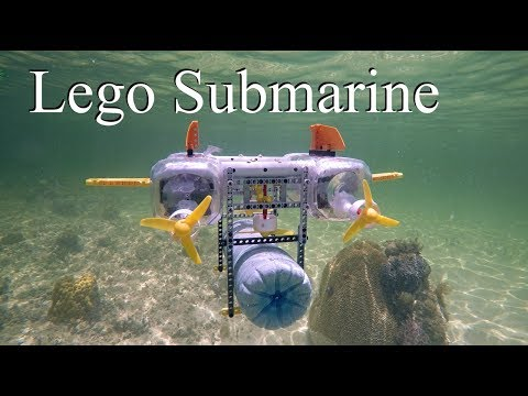 Lego Submarine (MOC) -Atlantic Ocean Adventure