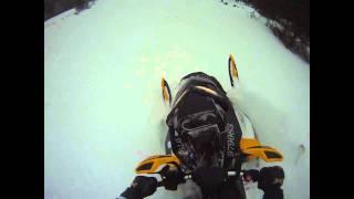GoPro HD Cam Ski-doo 800R Powder Ripping!!