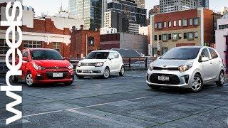 Kia Picanto V Suzuki Ignis V Holden Spark Comparison Review | Wheels Australia