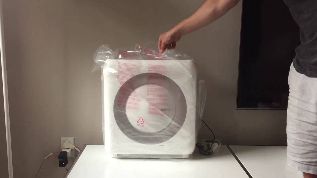 coway ap 1512hh mighty air purifier unboxing hepa filter youtube. Black Bedroom Furniture Sets. Home Design Ideas