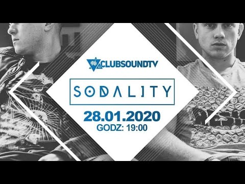 Sodality Live !  Clubsound TV ! 28.01.2020 R. !