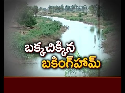 Buckingham Canal land Occupied by Land Grabbers in Prakasam district
