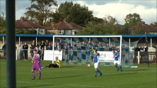 Wealdstone vs Thurrock- Kurtney Brooks and the Own goal