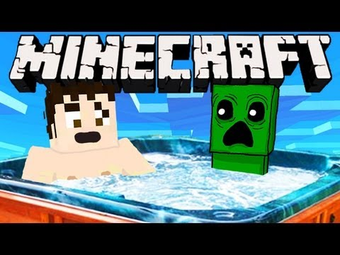 Minecraft - HOT TUB