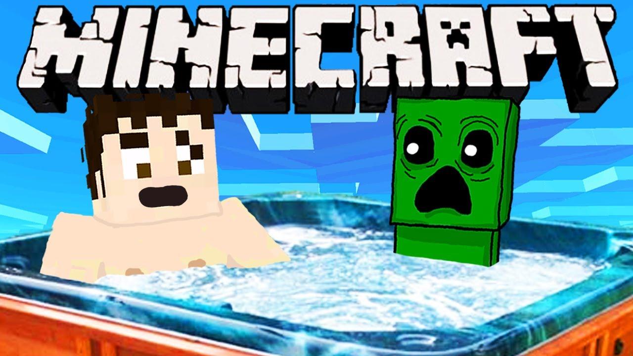 Minecraft - HOT TUB - YouTube