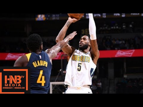 Denver Nuggets vs Indina Pacers Full Game Highlights / April 3 / 2017-18 NBA Season