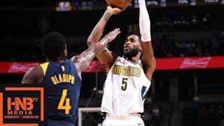 Denver Nuggets vs Indina Pacers Full Game Highlights  April 3  2017-18 NBA Season