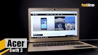 Acer Swift 3 — обзор 14-дюймовго ультрабука