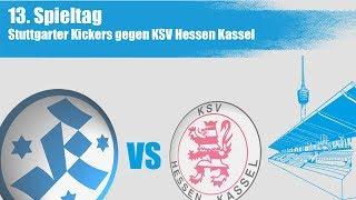 13. spieltag, stuttgarter kickers vs. hessen kassel - spielbericht+interviews