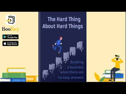 🔥🔥The Hard Thing About Hard Things By Ben Horowitz (Summary) -- The Essence Of Building A Business