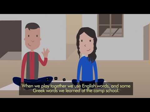 How language barriers affect children on the move (Dari with EN subtitles)