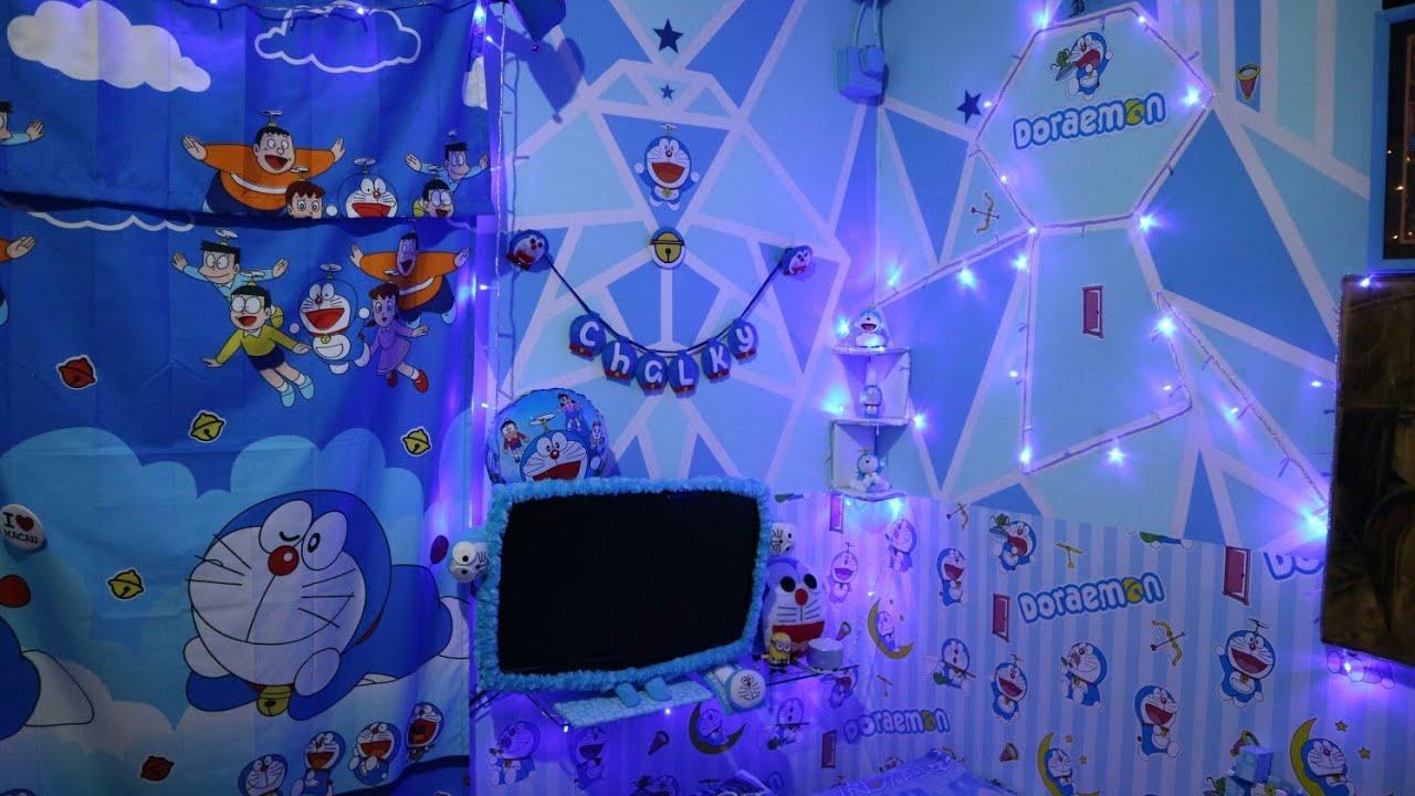Kreasi Kamar Doraemon Terbaru 2020 Dengan Tumblr Lamp Youtube