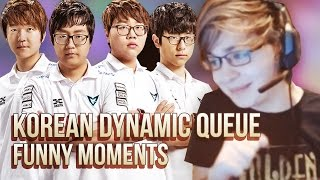 When Sneaky Dynamic Queue in Korea with Mata, Dandy, Pawn, Looper - Korean Bootcamp Funny Moments