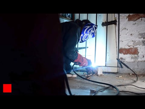 Making Window Security Bars