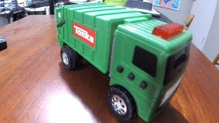 CARS Point of VIEW - Dump Trucks Police Chase TONKA TOYS