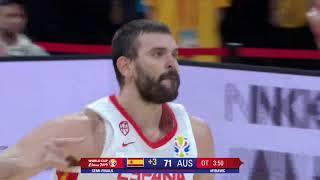 #WC2019 | Marc Gasol vs AUSTRALIA