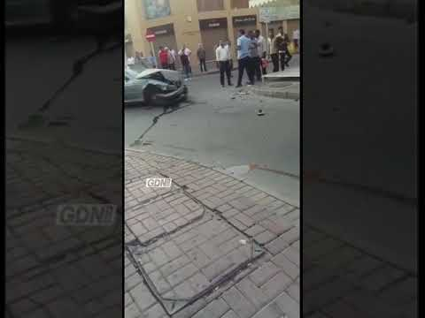Accident near Yateem Centre in Manama