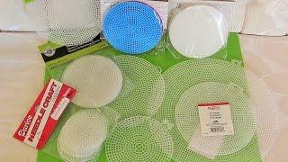 Round Plastic Canvas