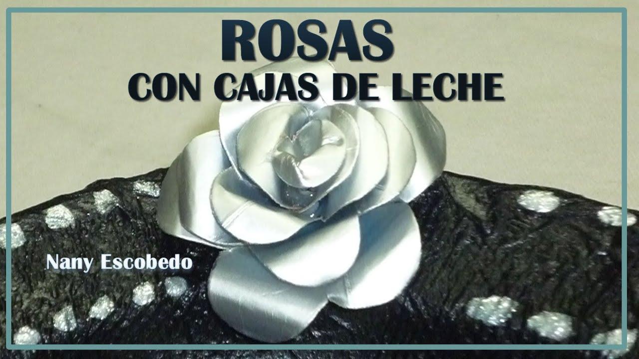 Rosas Con Caja De Leche | apexwallpapers.com