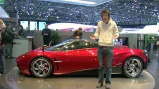 Pagani Huayra - Geneva Motor Show - evo Magazine