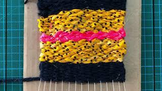 Summer Activity Box Dyi Weaving صناديق الأنشطة الصيفية النسيج اليدوي Youtube