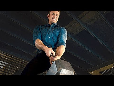 Avengers  Age of Ultron   Lifting Thors Hammer   Movie CLIP HD