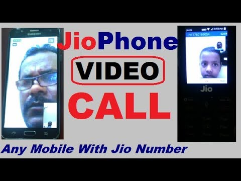 Live Video call By Jio Phone to any Other Phone | jio video call
