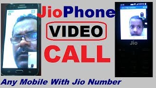 Live Video call By Jio Phone to any Other Phone   jio video call