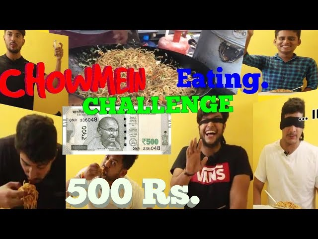 CHOWMEIN EATING CHALLENGE| BEST CHOWMEIN EATING COMPETITION| FUNNY CHOWMEIN EATING CHALLENGE|
