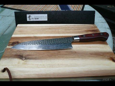 Sakai Takayuki santoku: A sharp Kitchen Knife