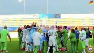 المنتخب الجزائري العسكري يفوز بكأس العالم في كوريا الجنوبية