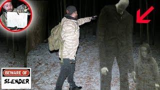 SURVIVING SLENDERMAN FOREST PART 2 GETTING MY REVENGE! WE WENT AFTER HIM