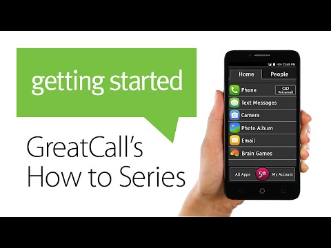How to Use The Home Screen – Jitterbug Smart - YouTube