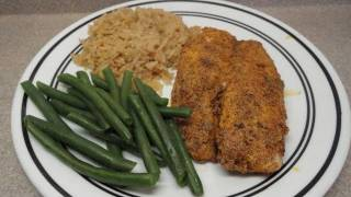Southwestern Fish Coating Recipe