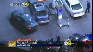 LAPD Shoot Carjacking Suspect