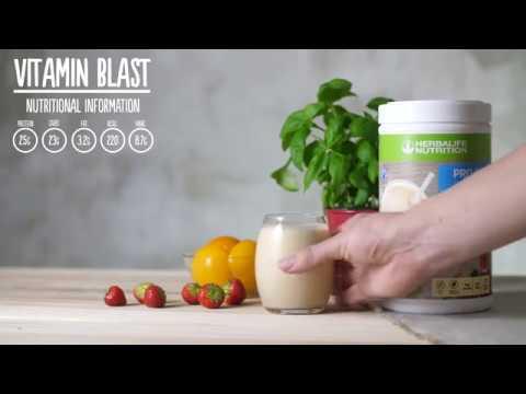 Herbalife Share A Shake! Vitamin Blast Shake!