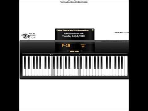 Virtual Piano  - Sad Romance  (My Cover)