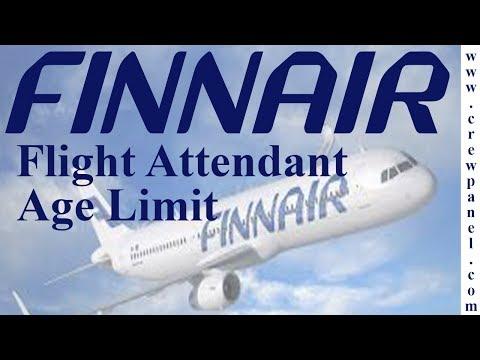 Flight attendant age limit Finnair airline | how to become a flight attendant in Finnair airline