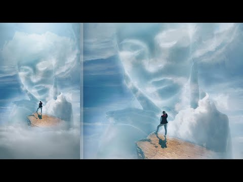 Cloud Face [Photoshop] Surreal Photo Manipulation