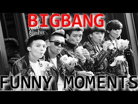 FUNNY MOMENTS ► BIGBANG #1