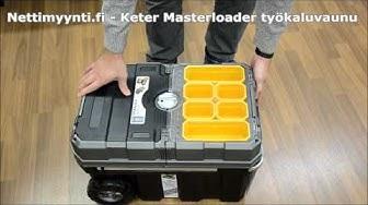 Keter Master Loader työkaluvaunu - Nettimyynti.fi verkkokaupasta