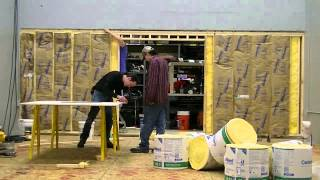 Building A Wall For Studio C: Abbreviated Workday #8