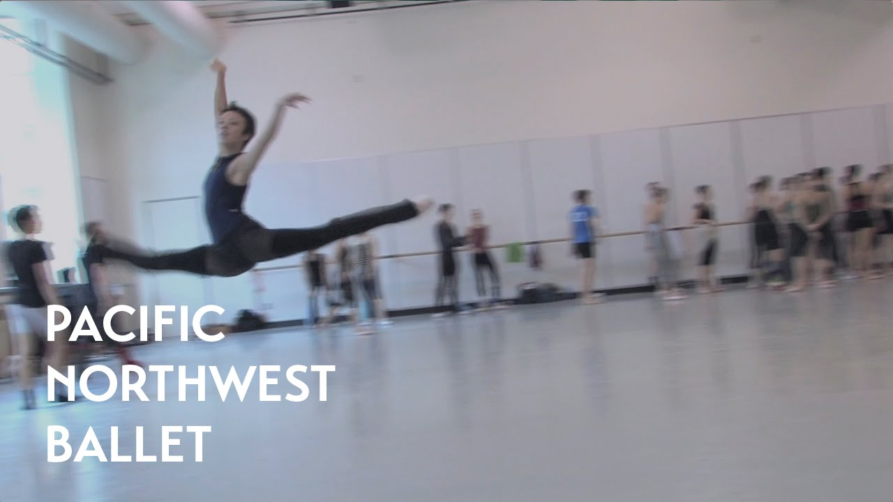 PNB's Company Class-Jumping (Pacific Northwest Ballet)