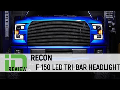 Recon Headlight Review Ford F-150