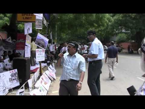 Protest in New Delhi against Speedy Divorce Law