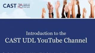 CAST UDL Introduction