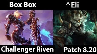 [ Box Box ]  Riven vs Rengar [ ^Eli ] Jungle  - Box Box Riven Montage